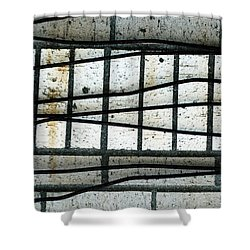 Iron Curtain Or One Hundred Years A Slave Shower Curtain