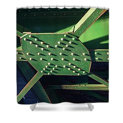 Iron Rail Bridge Shower Curtain