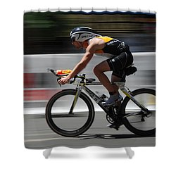 Ironman Need For Speed Shower Curtain by Bob Christopher