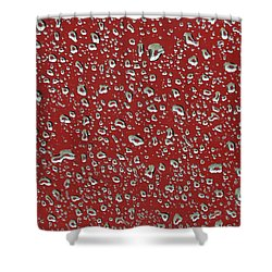 Irregular Rain Drops Shower Curtain