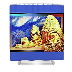 Irreplaceable   Ancient  Glory Shower Curtain by Hartmut Jager