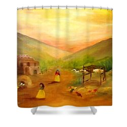 Is It Done Yet? Shower Curtain by Connie Gregory