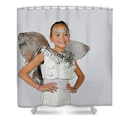 Isa In Snow Fairy Shower Curtain
