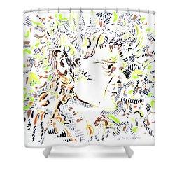 Isaac Newton Shower Curtain