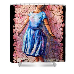 Isadora Duncan - 2 Shower Curtain