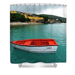 Shower Curtain featuring the photograph Isha by Kurt Van Wagner