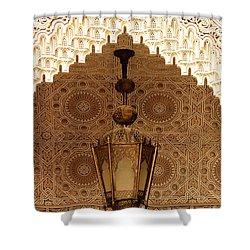 Islamic Plasterwork Shower Curtain