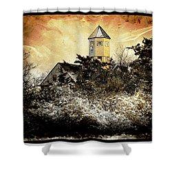 Island Beach  Shower Curtain