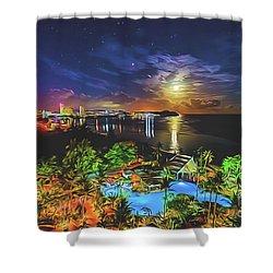 Island Dream Shower Curtain