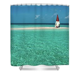 Island Gnome Shower Curtain