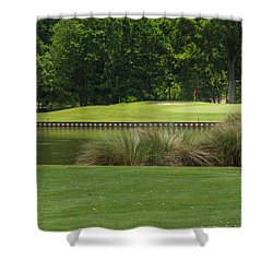 Island Green Shower Curtain