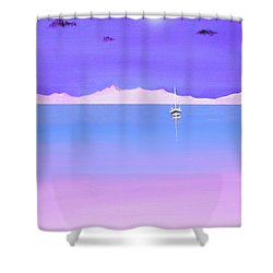 Island In The Sun Shower Curtain