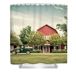 Shower Curtain featuring the photograph Island Lavender by Joel Witmeyer