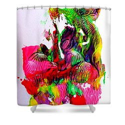 Island Maiden Shower Curtain