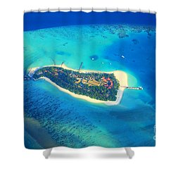 Island Of Dreams Shower Curtain