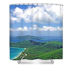 Island Paradise Shower Curtain