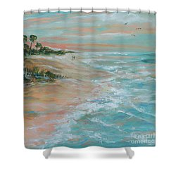 Island Romance Shower Curtain
