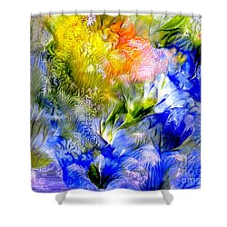 Island Spring Shower Curtain