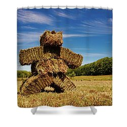 Island Strawman Shower Curtain