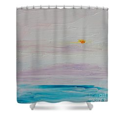 Islands In Summer Shower Curtain