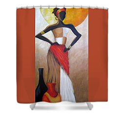 Islands Of The Caribbean Shower Curtain