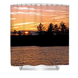 Shower Curtain featuring the photograph Islands Of Tranquility by Lynda Lehmann
