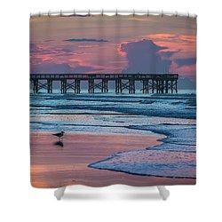 Isle Of Palms Morning Shower Curtain
