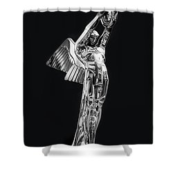 Isotta Fraschini Shower Curtain