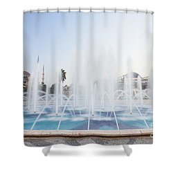 Shower Curtain featuring the photograph Istanbul City Center I by Yuri Santin