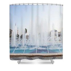 Istanbul City Center I Shower Curtain by Yuri Santin