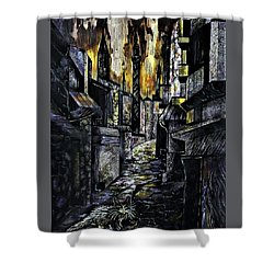 Istanbul Impressions. Lost In The City. Shower Curtain