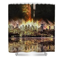 Istanbul In My Mind Shower Curtain