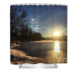 iSunset Shower Curtain