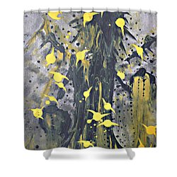 It Caws Shower Curtain