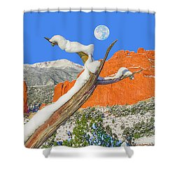 It Doesn't Matter How Many Books You Can Get Through, But Rather, How Many Can Get Through To You.  Shower Curtain