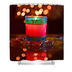 Shower Curtain featuring the photograph It Feels Like Christmas II by Rima Biswas