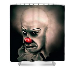 It Shower Curtain by Fred Larucci