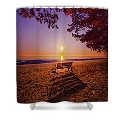 Shower Curtain featuring the photograph It Is Words With You I Seek by Phil Koch