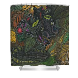 It Never Had A Chance Shower Curtain by Ania M Milo