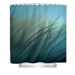 It Takes Courage To Stay Delicate Shower Curtain