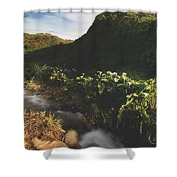 It Was A Hard Winter Shower Curtain by Laurie Search