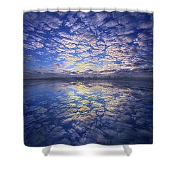 Shower Curtain featuring the photograph It Was Your Song by Phil Koch