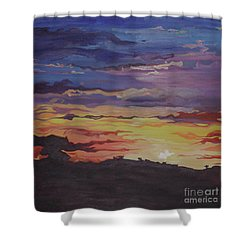 It Will Rise Again Shower Curtain