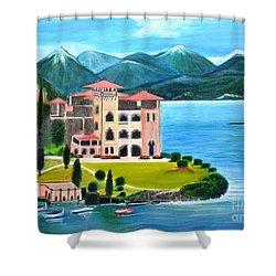 Italian Landscape-casino Royale Shower Curtain