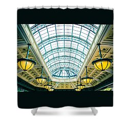 Italian Skylight Shower Curtain by Bobby Villapando