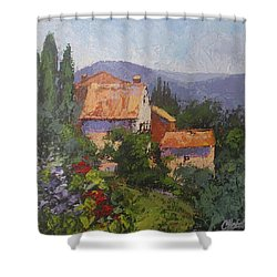 Italian Village Shower Curtain