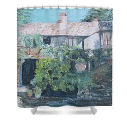 Italian Winery Shower Curtain