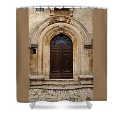 Italy - Door Eighteen Shower Curtain