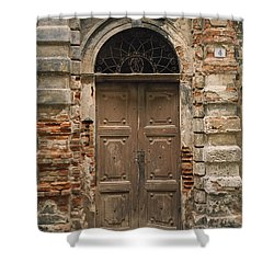 Italy - Door Four Shower Curtain