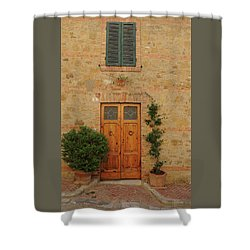 Italy - Door Nine Shower Curtain